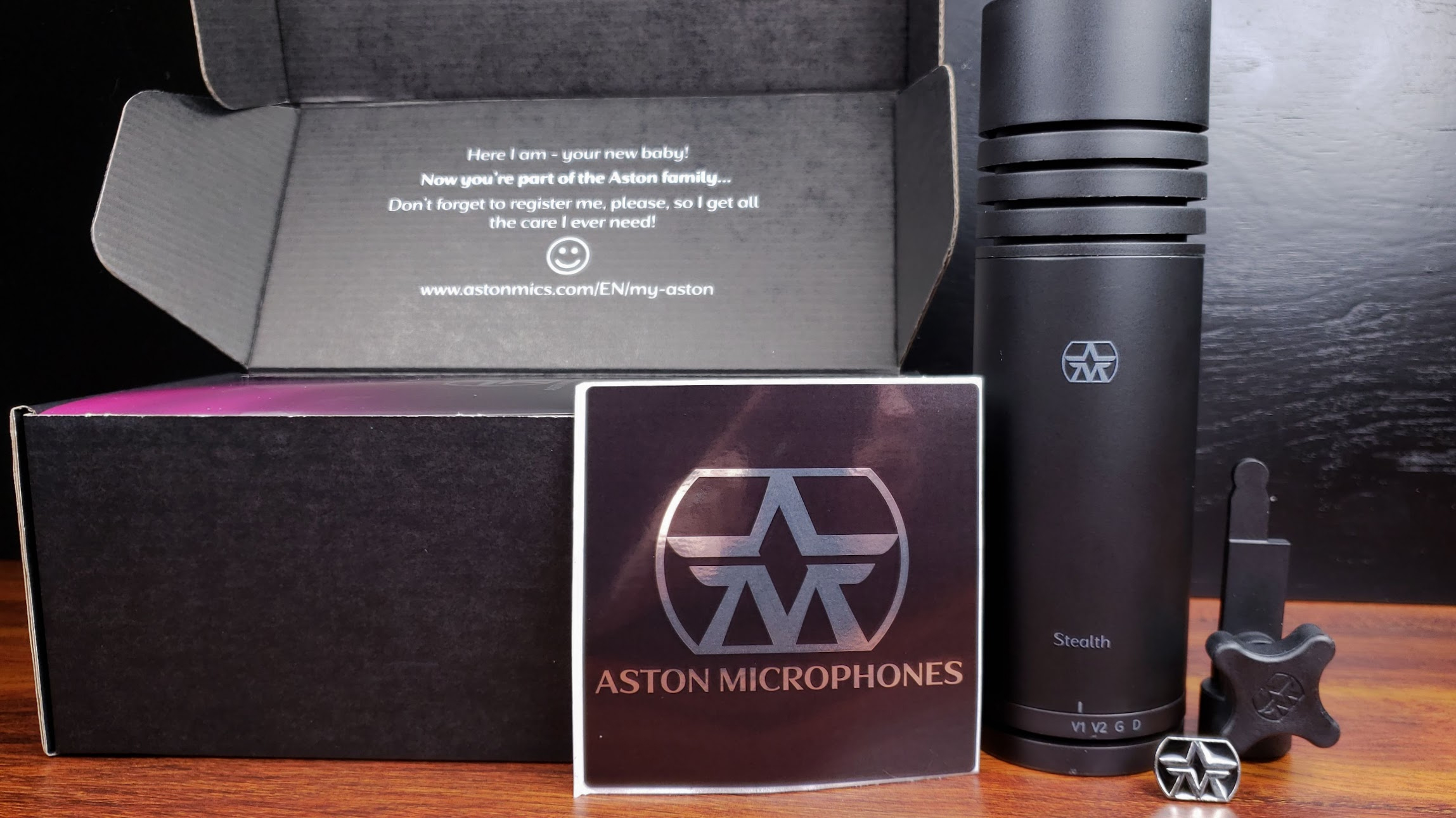 Aston Microphones Stealth Review