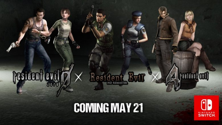 Resident Evil 1, 0 & 4 Are Coming to Nintendo Switch