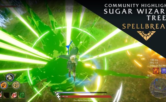 Spellbreak Community Highlights Sugar Wizard Trees