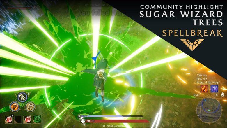Spellbreak Community Highlights Sugar Wizard Trees
