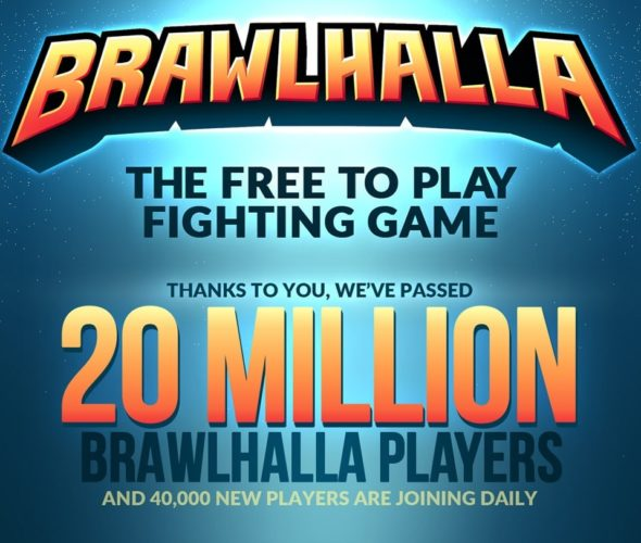 Brawlhalla Celebrates 20 Million Players With Special Infographic