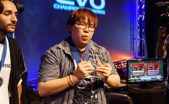 Justin Wong winning Evo 2014