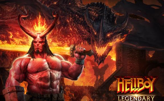 Legendary: game Of Heroes Hellboy Key Art Banner