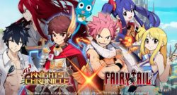 Knights Chronicle Unveils FAIRY TAIL Crossover Event