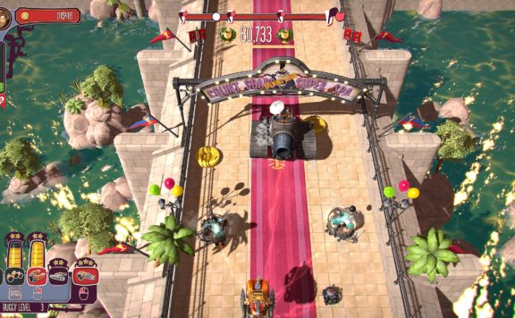 Pressure Overdrive Crashes onto Nintendo Switch in April