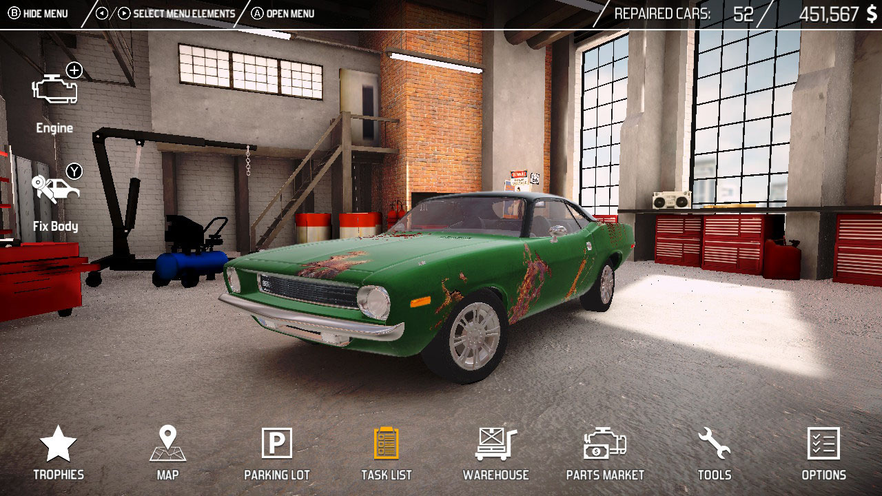 Car Mechanic Simulator Review - GameSpace com