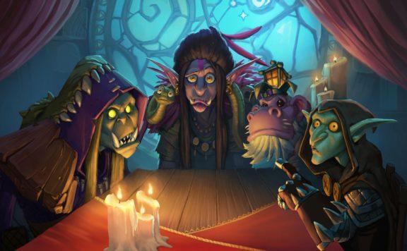 Hearthstone Rise of Shadows Unleashes the League of E.V.I.L.