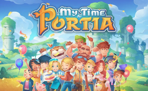 My Time At Portia Banner