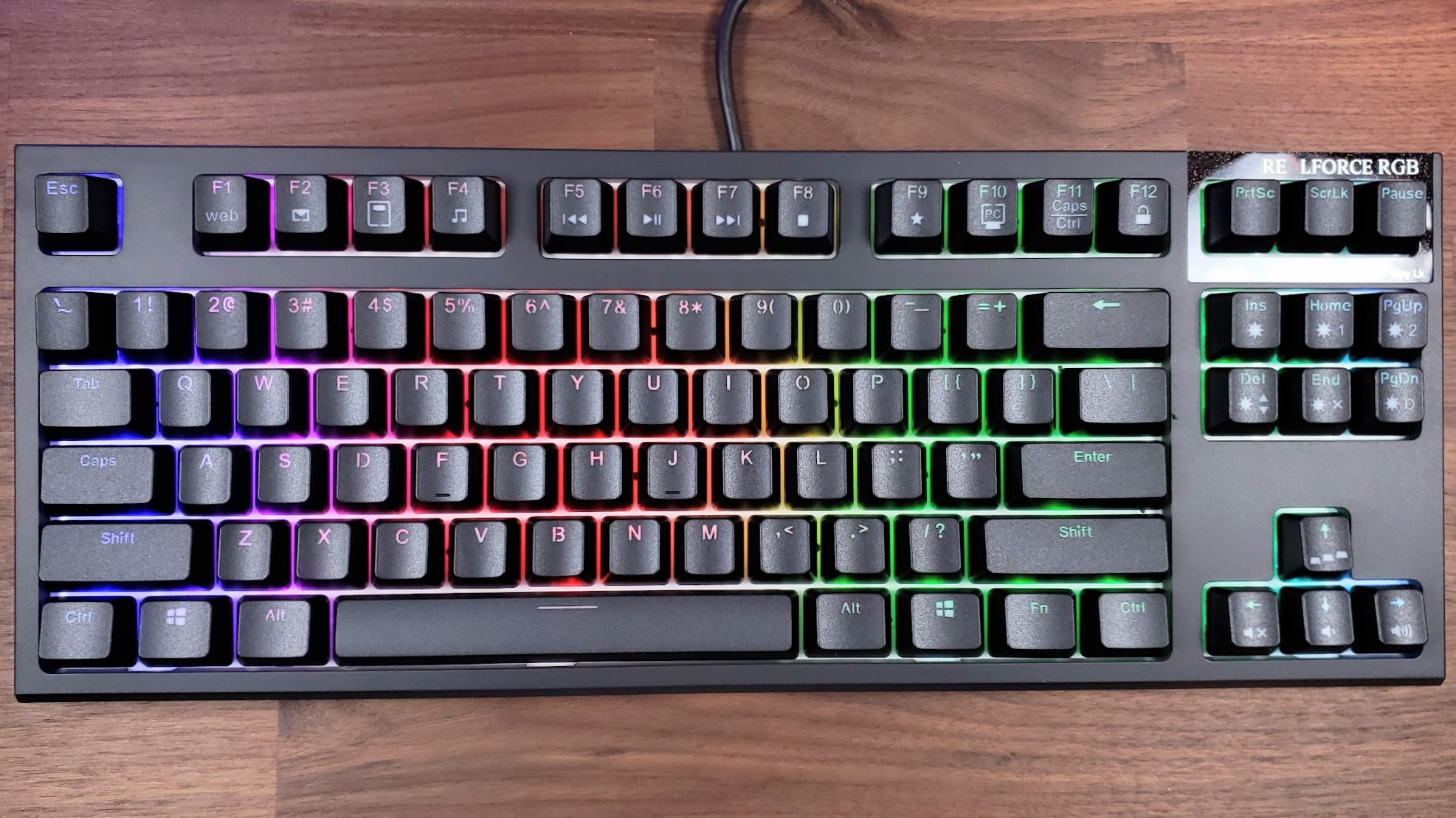 Topre Realforce Rgb Tkl Review Gamespace Com