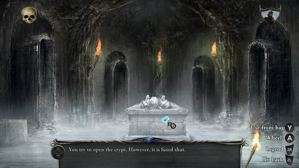Shadowgate Coffin Room