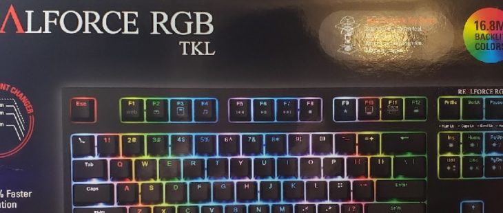Topre Realforce RGB TKL Review