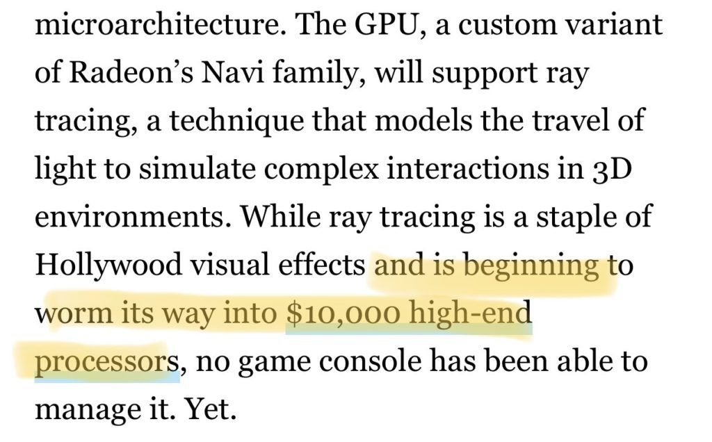 Wired Ray Tracing