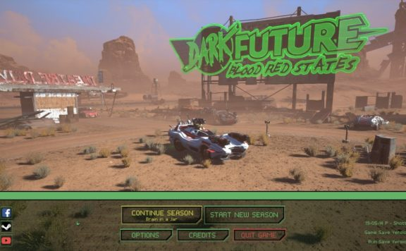 DARK FUTURE: BLOOD RED STATES REVIEW