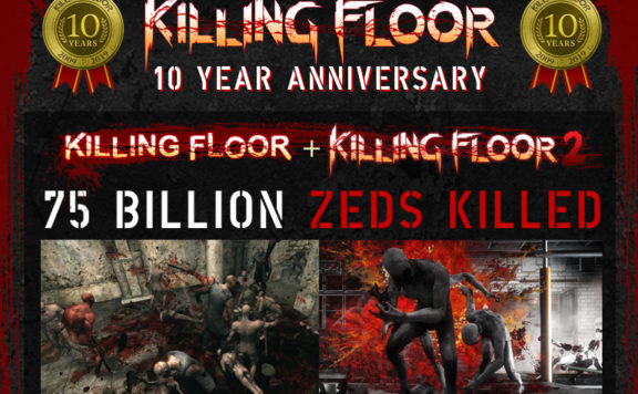 Killing Floor 10-Year Anniversary Banner