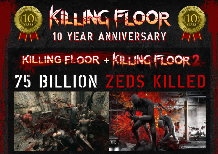 Killing Floor 10-Year Anniversary Banner