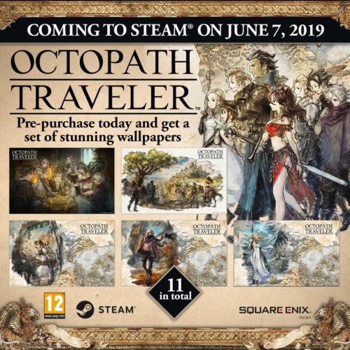 Octopath Traveler PC Pre-order