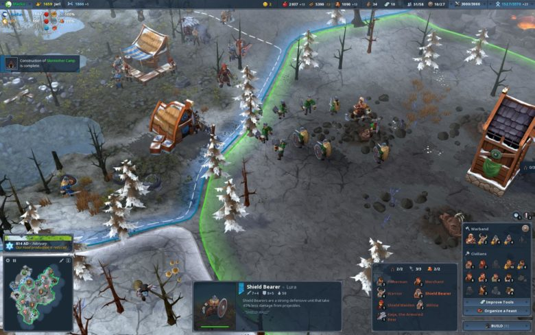 Viking RTS Northgard Embarks for Switch, PS4 and Xbox One Later This Year