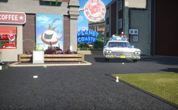 Planet Coaster: Ghostbusters DLC