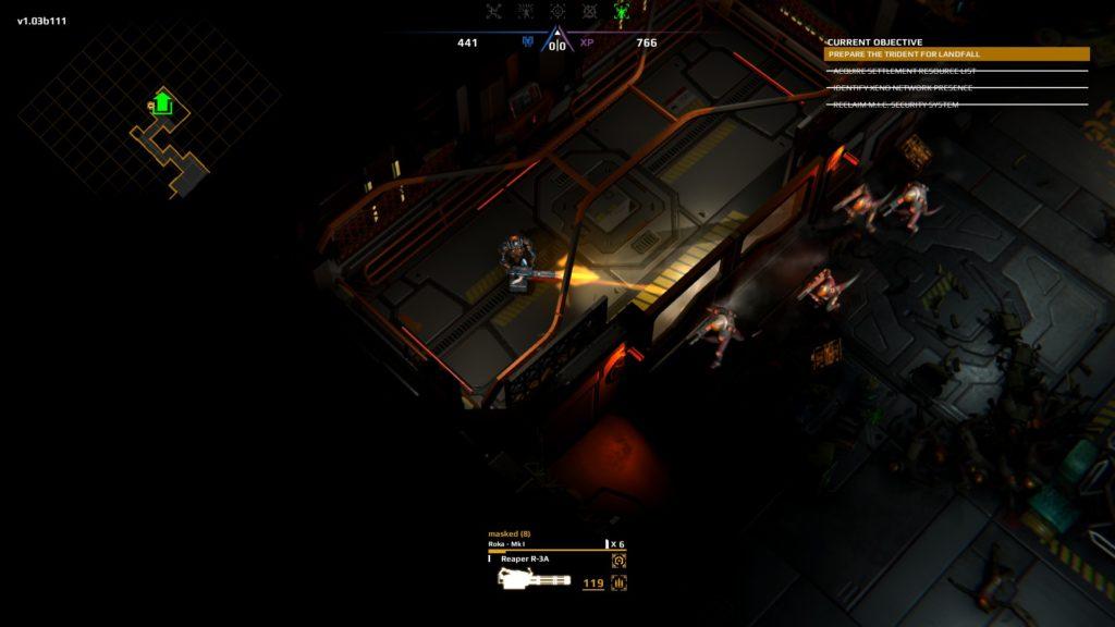 Trident's Wake Review Minigun