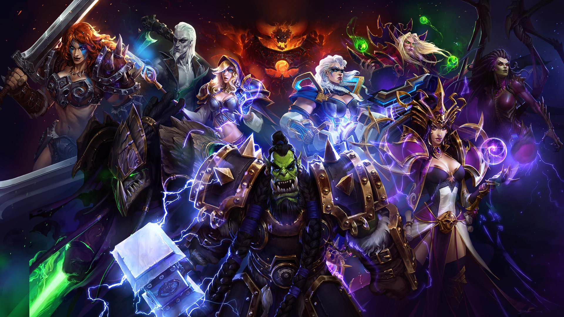 Heroes Of The Storm New Event Mechastorm 2 Brings New Skins