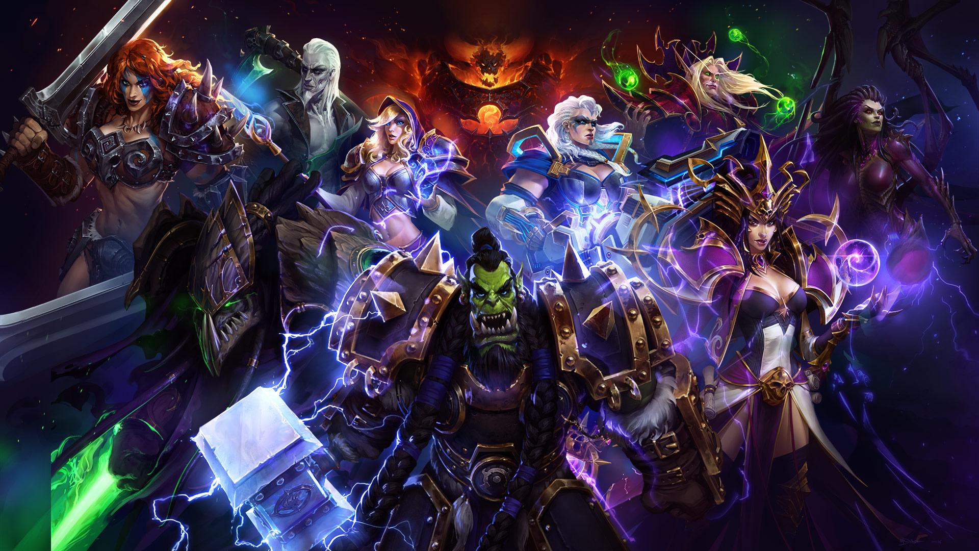 Heroes of the storm new event mechastorm 2 brings new - Heroes of the storm space lord leoric ...