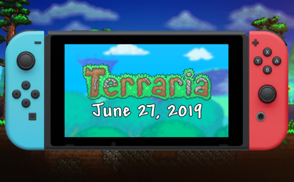 Terraria Launches on Nintendo Switch Today