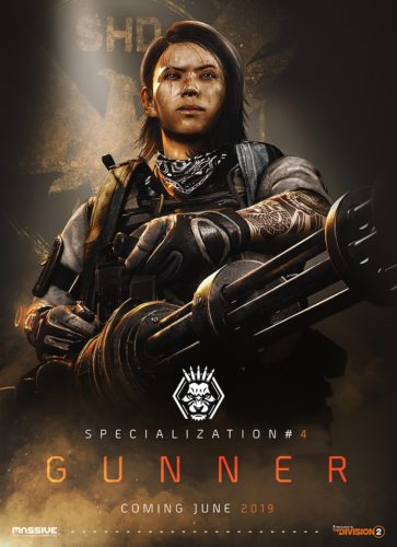 The Division 2 - New Specialization - Gunner