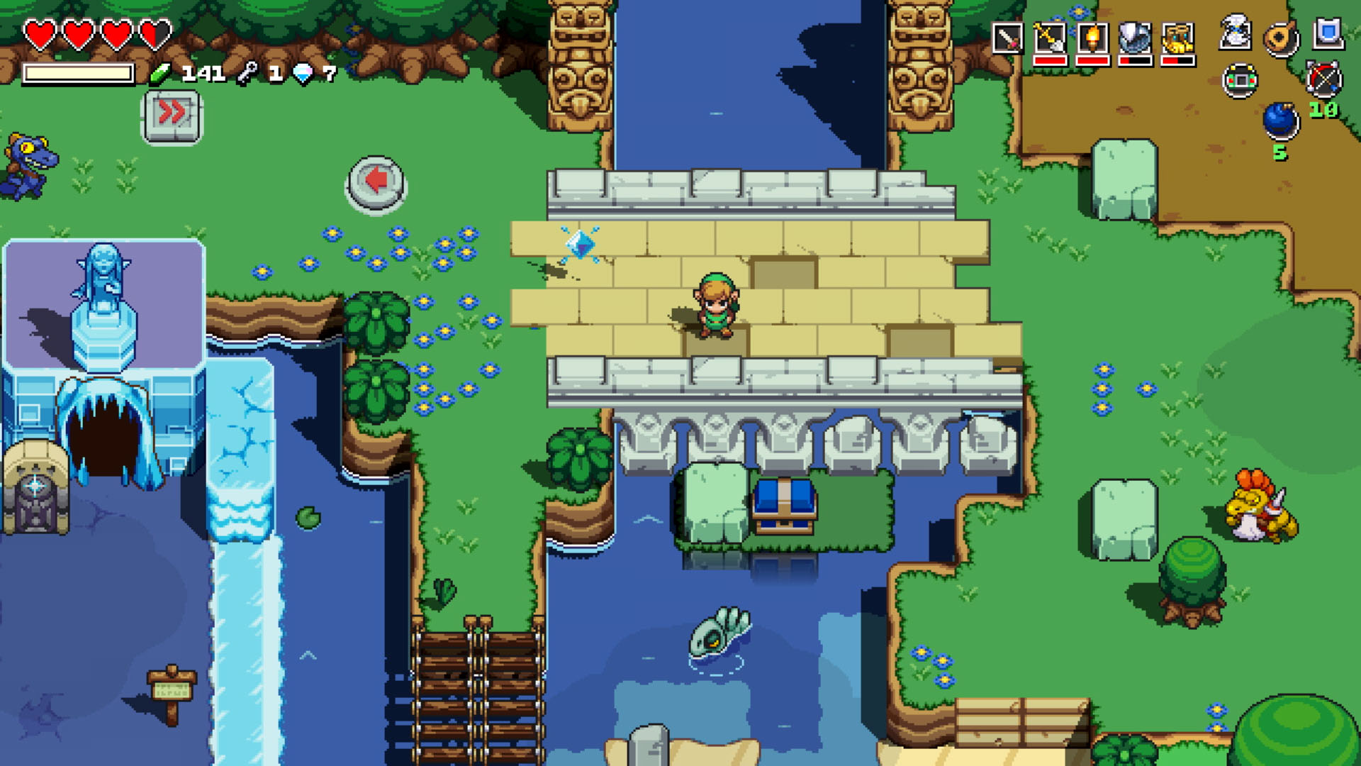 Cadence Of Hyrule Crypt Of The Necrodancer Is Out Now Gamespace Com