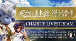 Astellia Charity Livestream 1