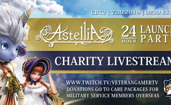 Astellia Charity Livestream 1