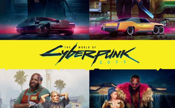 CDPR Will Release The World of Cyberpunk 2077 book