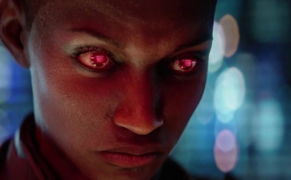 Cyberpunk 2077 Night City News - Who is that girl Bug