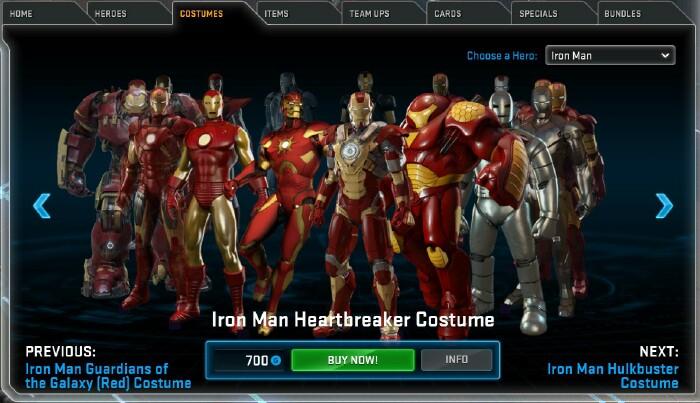 Marvel Heroes Omega 3