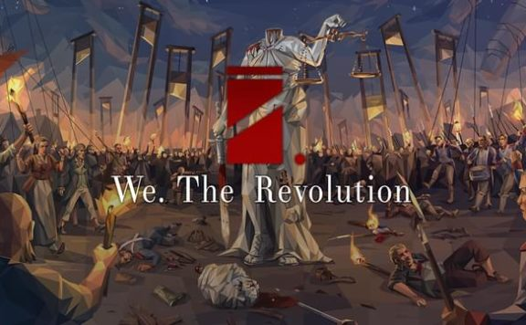 We. The Revolution Banner