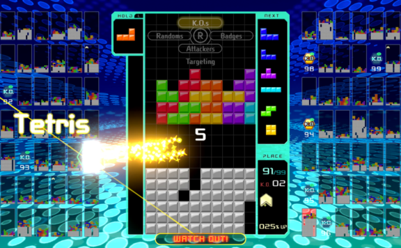 tetris 99 physical