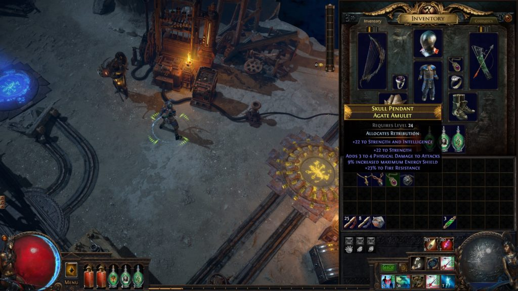 Path of Exile: Blight anointing