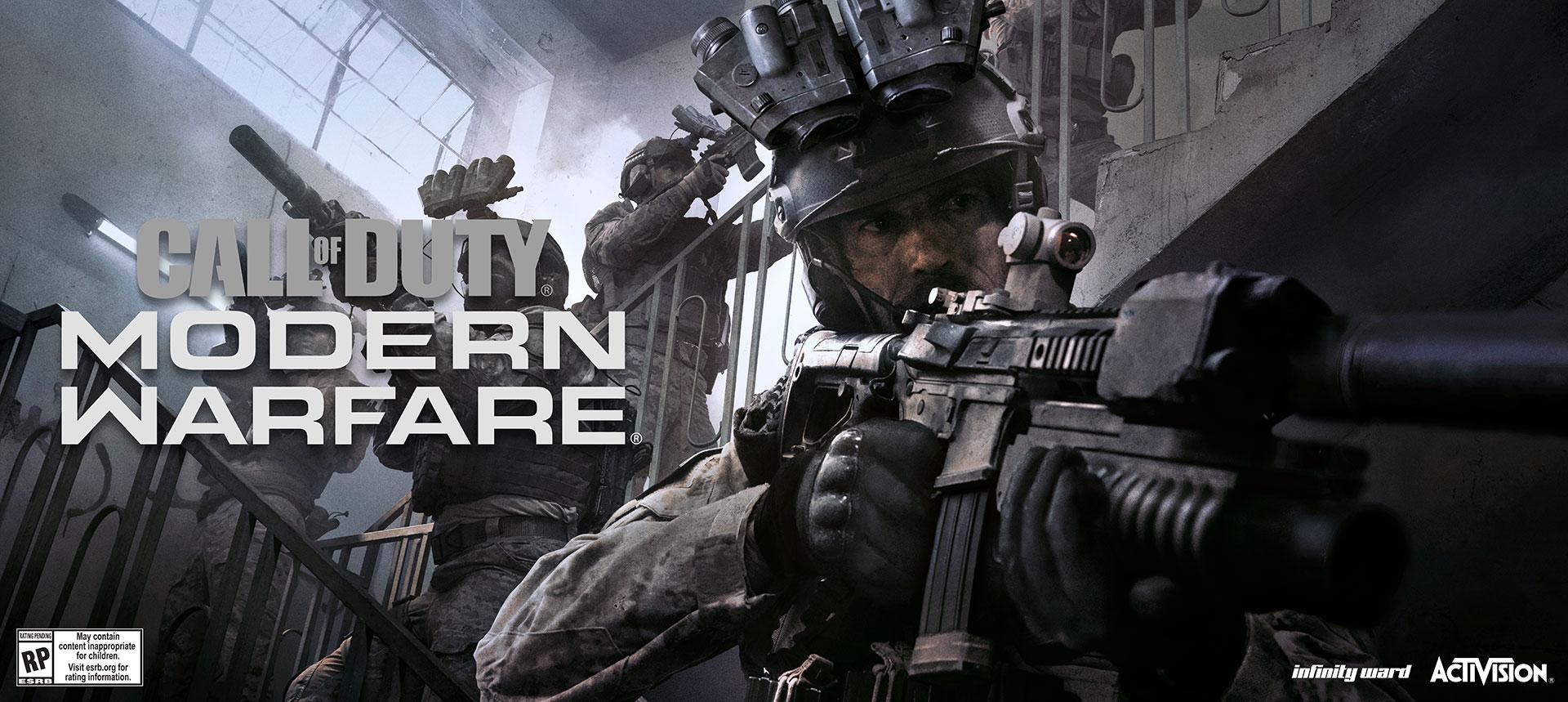 Call of Duty: Modern Warfare - Multiplayer Reveal - GameSpace com