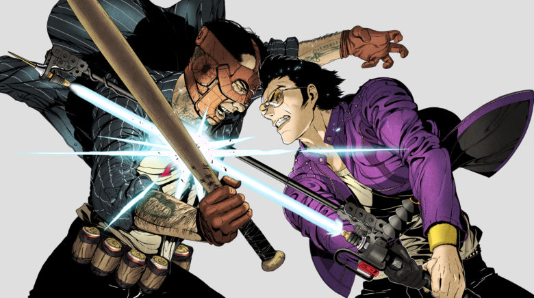 Travis Strikes Again: No More Heroes is headed to the PS4