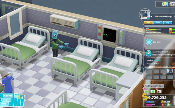 Two Point Hospital - Close Encounters DLC Adds Aliens to the Game
