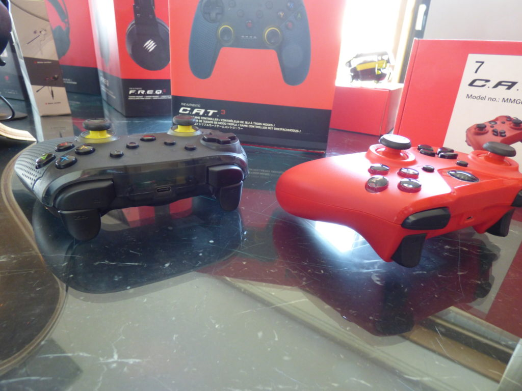mad catz CAT 3 and 5