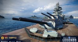 World of Warships Legends launch