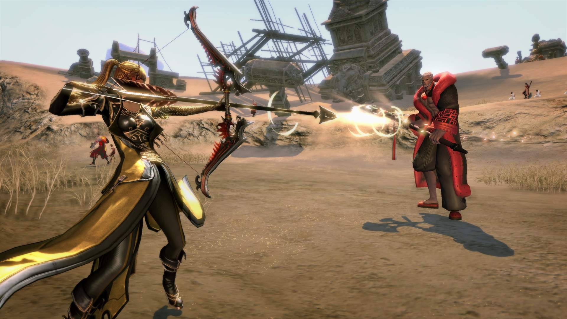 Blade & Soul to add the Zen Archer class on Sept  18th