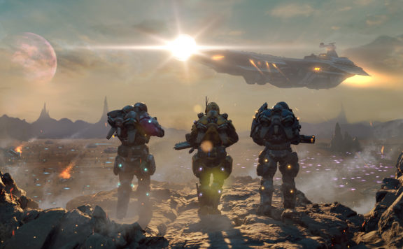 PlanetSide Arena - First Look at Gameplay