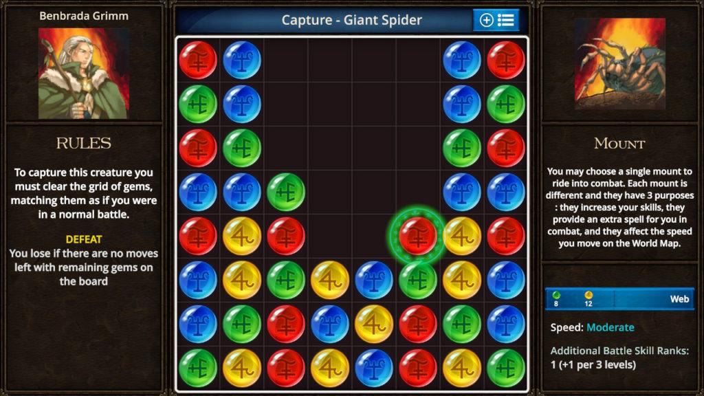 Puzzle Quest - The Legend Returns Match