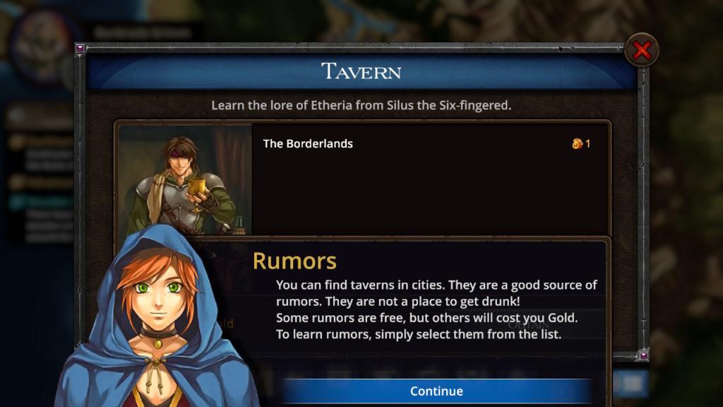 Puzzle Quest - The Legend Returns Taverns