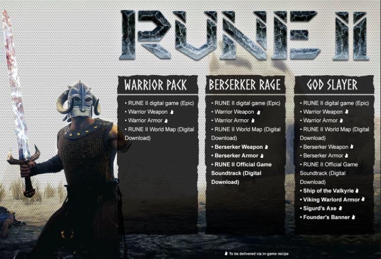 Rune II Preorder
