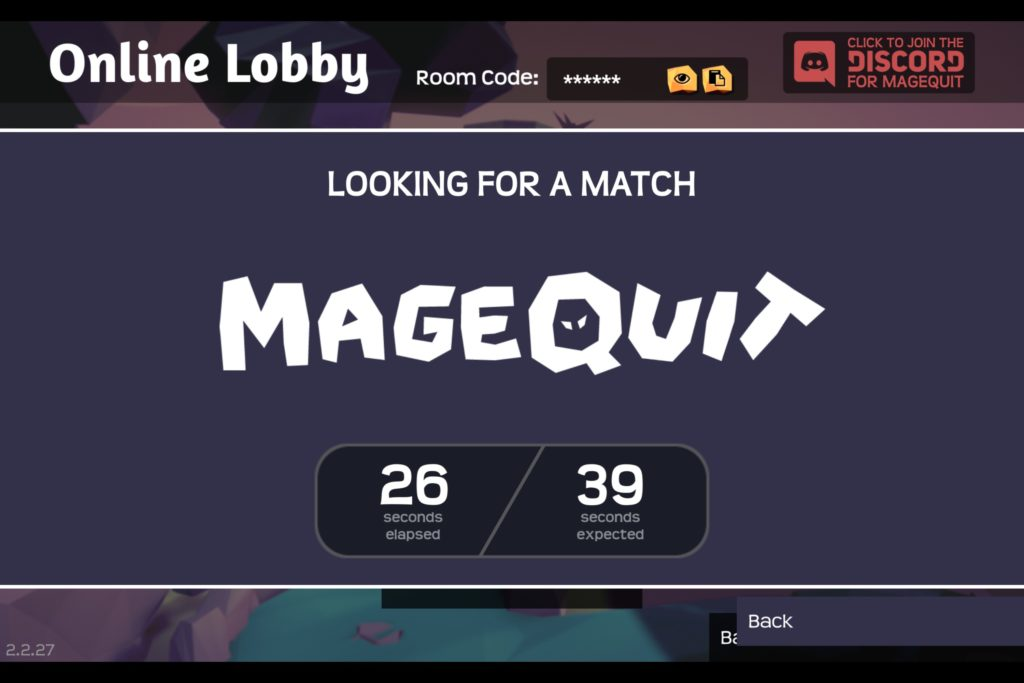 MageQuit Review Lobby