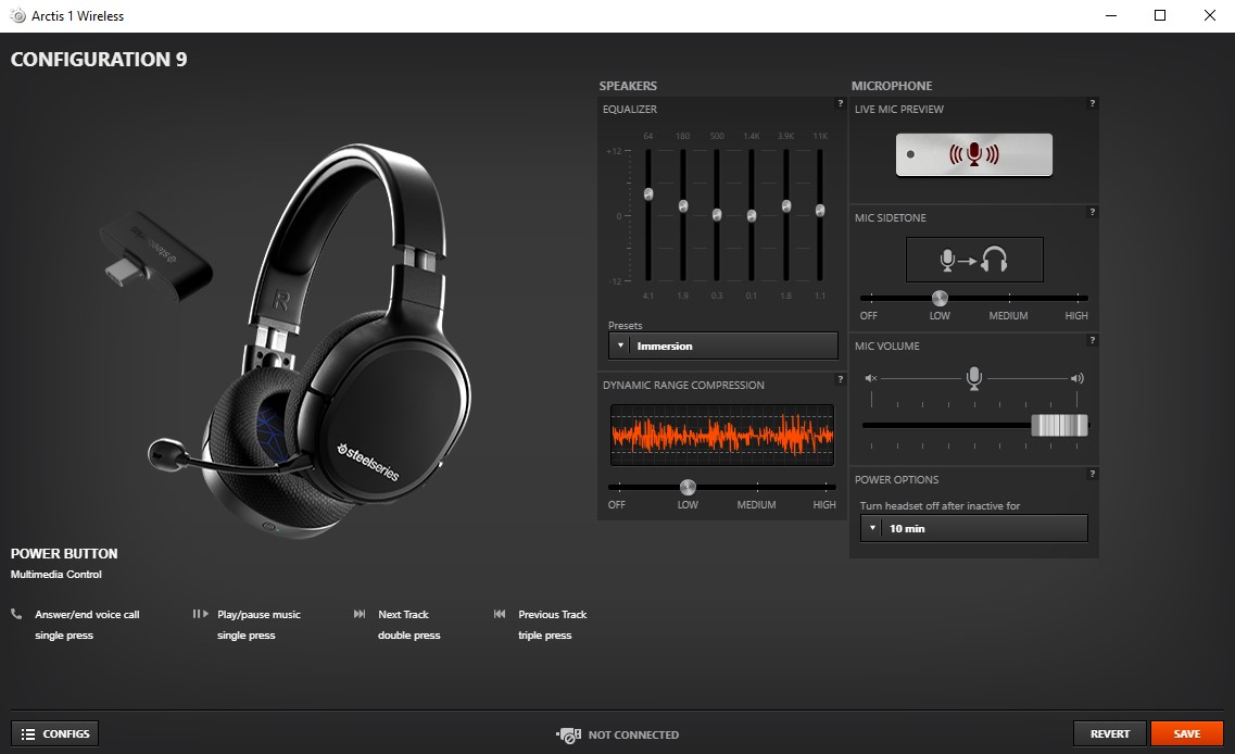 Steelseries Arctis 1 4 In 1 Wireless Headset Review Gamespace Com