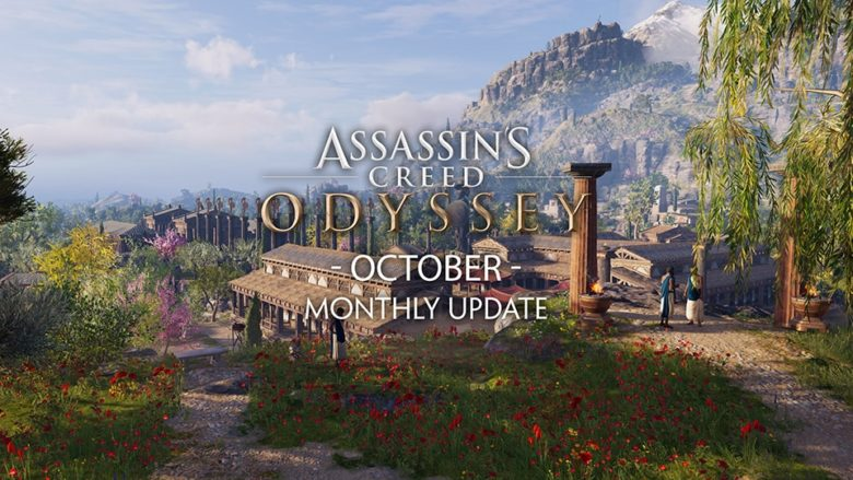 Assassin's Creed Odyssey - October 2019 Monthly Update