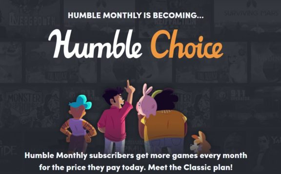 humble bundle choice
